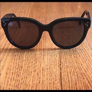 Celine Audrey Black Polarized Sunglasses